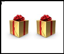 Encart - 2 cadeaux