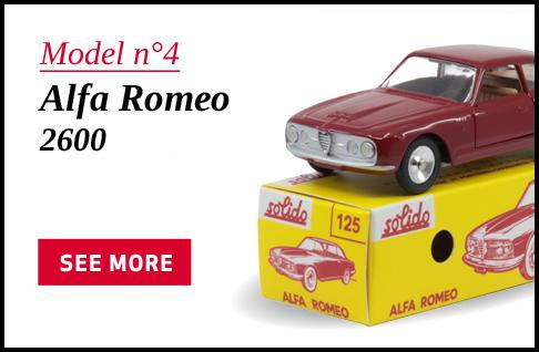 Model 4 - Alfa Romeo -2600